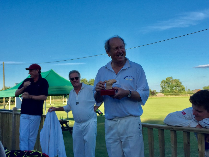 Charlie Ross, VPs captain, Camel Cup winner for the second year in a row - Sun 2nd Jul 2017 @ Preston Capes