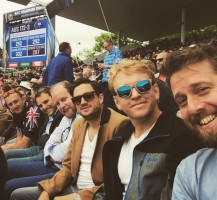 IVCC at Edgbaston for Eng v Aus - Champions Trophy June 2017